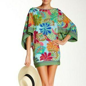 Trina Turk Mini Tunic  Cover Up Zanzibar Dress